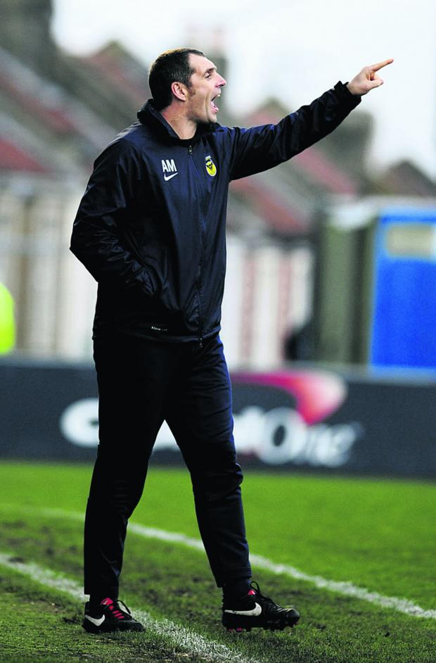 Herald Series: Andy Melville yesterday resigned as Oxford United coach