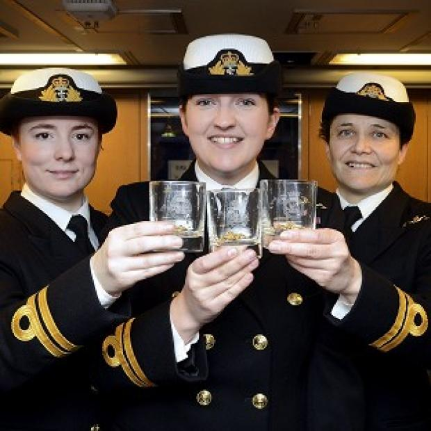 Herald Series: Women already serve as submariners with the Royal Navy.