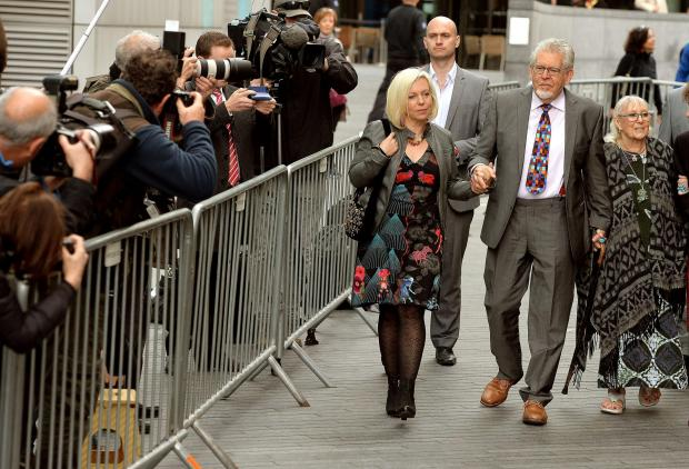 Rolf Harris guilty on sex charges