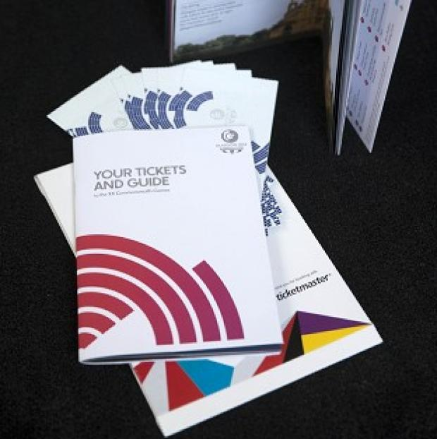 Herald Series: Tickets and a guide for the Glasgow 2014 Commonwealth games are being sent out today