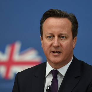 David Cameron said his was the only political party to be able to offer a referendum on Britain's membership of the EU
