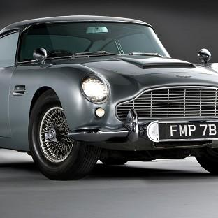 The DB5 model used in the film Goldfinger