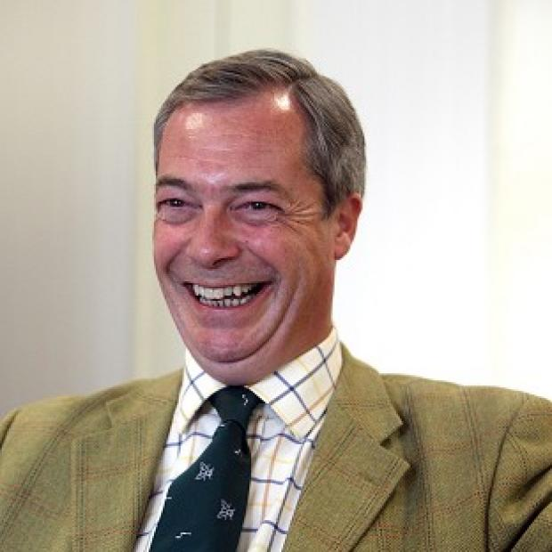 Herald Series: UKIP leader Nigel Farage denied being too frightened to attend a party rally