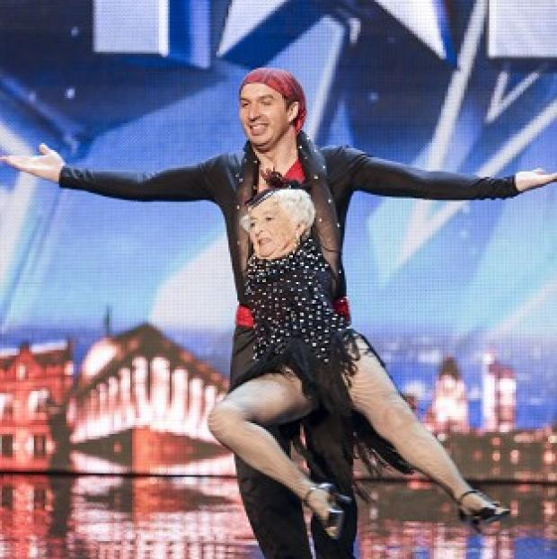 Herald Series: Paddy has been given the all-clear to perform in Britain's Got Talent with her partner Nico