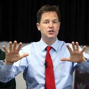 Just 13% of people thought Nick Clegg was doing a good job, according to research