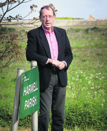 Harwell Parish Council chairman David Marsh