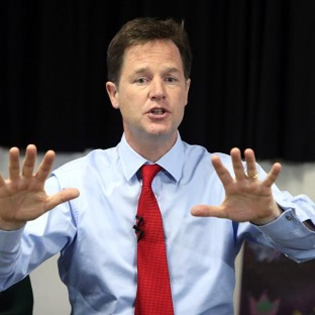 Herald Series: Nick Clegg has sounded a rallying call to the Liberal Democrats after recent poll reverses.
