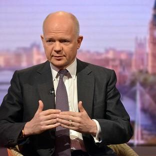Herald Series: Foreign Secretary William Hague says the UK wants reformers to take the top jobs in Europe