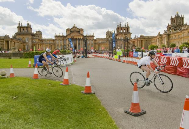 Blenheim Triathlon raises more than £400,000