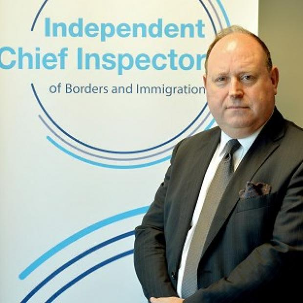 Herald Series:  John Vine, the Chief Inspector of Borders and Immigration