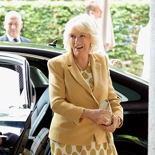 Herald Series: The Duchess of Cornwall left Wimbledon's Centre Court to watch Andy Murray play and then congratulated him on his win