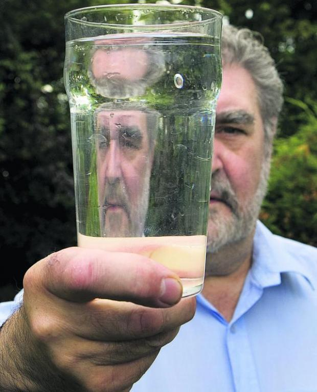 Herald Series: Green county councillor David Williams is hoping to find a way to prevent it from taking place within the county. One of the concerns is that it will contaminate the water supply