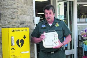 Defibrillator campaign smashes its 200 target - now let's go for 500