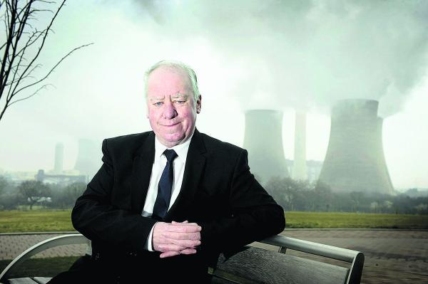 Town councillor Des Healy says the chance to detonate the cooling towers at Didcot A power station should be raffled and cash raised donated to local charities