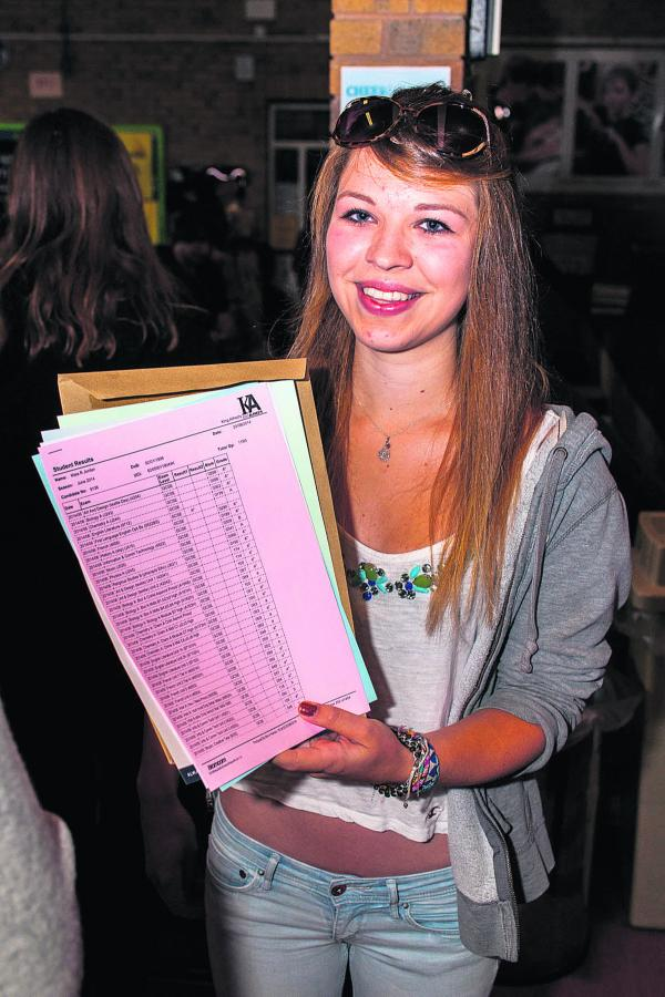 GCSE success stories around the county