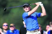Eddie Pepperell during his fourth-placed finish at Celtic Manor