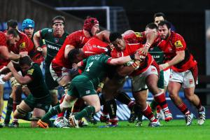 RUGBY UNION: Leicester Tigers power past London Welsh as Thacker bags a brace