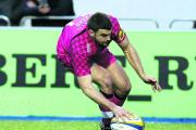 Elliot Kear touches down for London Welsh's only try