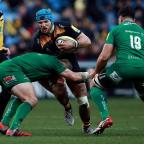 Herald Series: James Haskell helped Wasps defeat London Irish in their first game at the Ricoh Arena