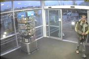 CCTV footage of Jonathan Martin Mills at Pear Tree services on Monday, February 9
