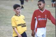 Callum O'Dowda in action for Oxford United's youth team against Swindon Town, aged eight