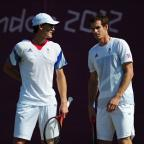 Herald Series: British fans are unlikely to see the Murray doubles act at this weekend's Davis Cup tie