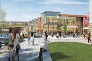 An artist's impression of the proposed extension to the Orchard Centre in Didcot