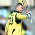 Herald Series: Michael Clarke put on a good show as Australia won their fifth World Cup