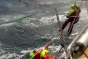 Andrew Taylor's crewmates battle to rescue him