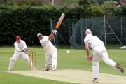 Bilal Chauhan top-scored with 61 as Radley shocked defending champions Cowley Internationals with a 21-run win in Division 1 – their second successive victory