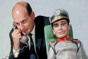 Gerry Anderson with Stringray captain Troy Tempest