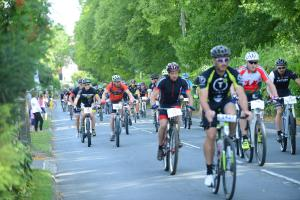 Cyclists make it a marathon effort in park