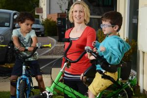 Trike means freedom for poorly youngster