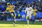 James Roberts, pictured in action for Oxford United last season, has joined Oxford City on a month's loan