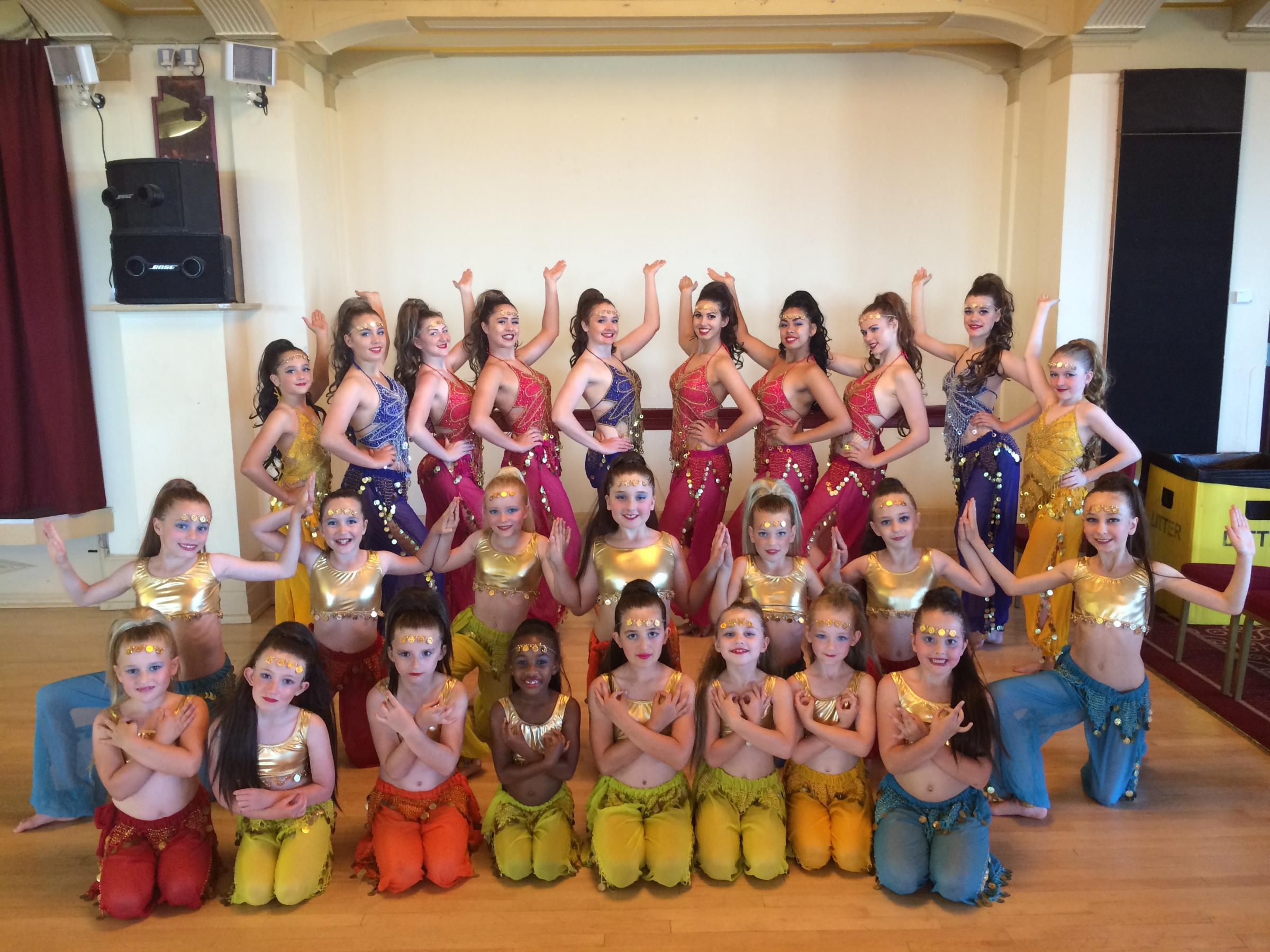 Pupils at Didcot's Bernadine Soul School of Dance have won a place to perform at Disneyland Paris later this year