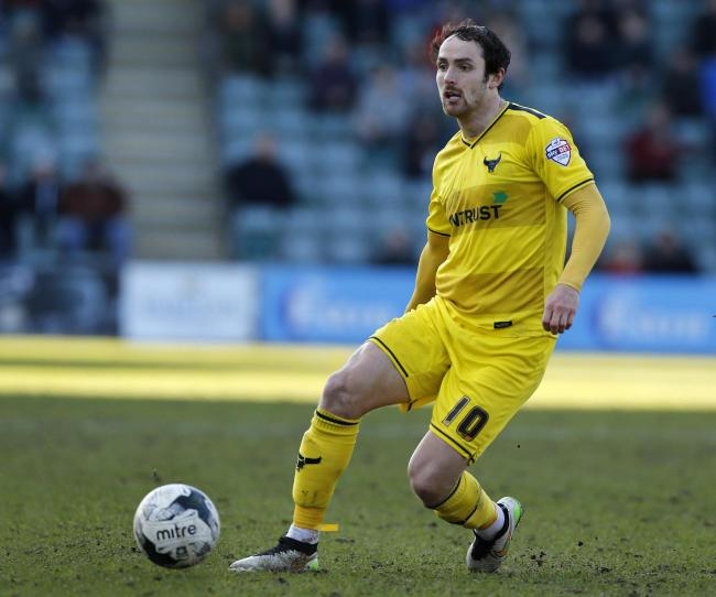 Oxford United striker Danny Hylton