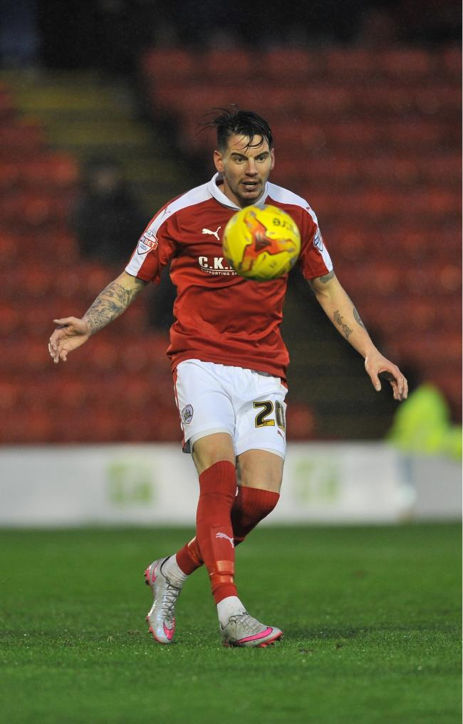 Oxford United must be on their guard to keep Adam Hammill quiet Picture: Barnsley Chronicle