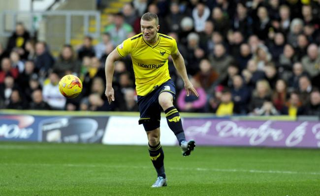 Oxford United defender Joe Skarz