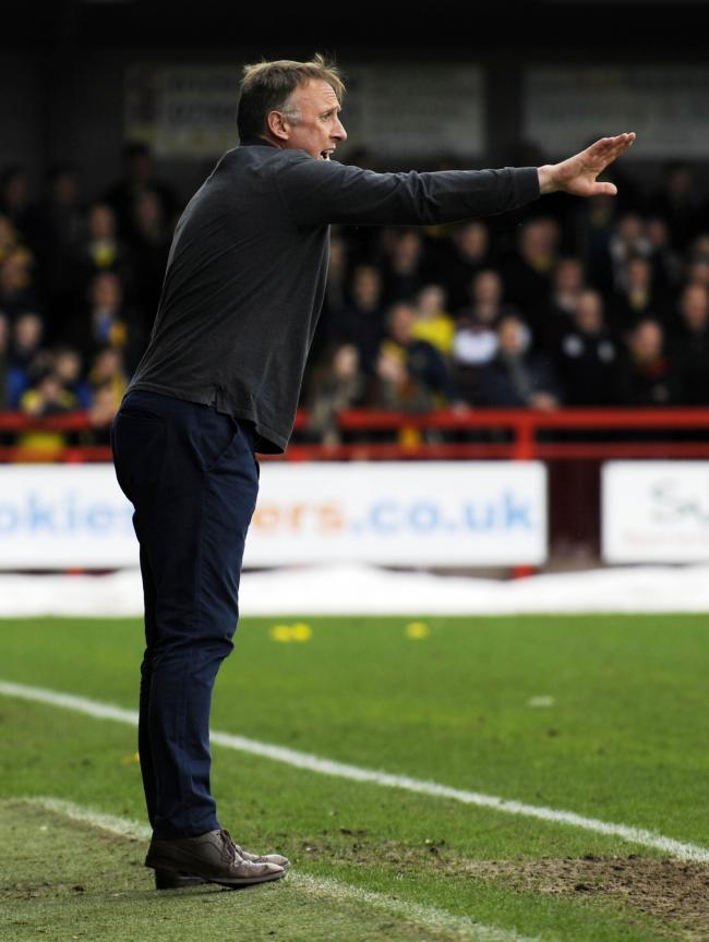 Crawley Town manager Mark Yates Picture: David Fleming
