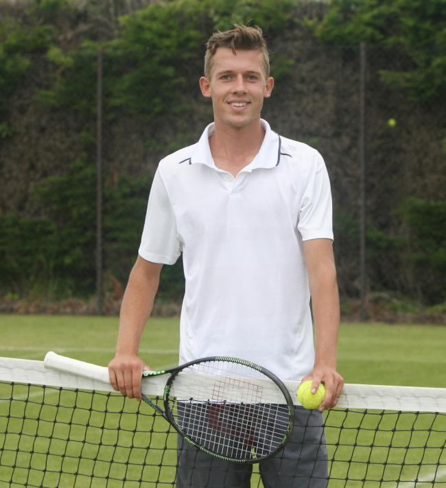 Alexis Canter is preparing for the jump to the men's professional circuit after playing in his final Junior Wimbledon this week