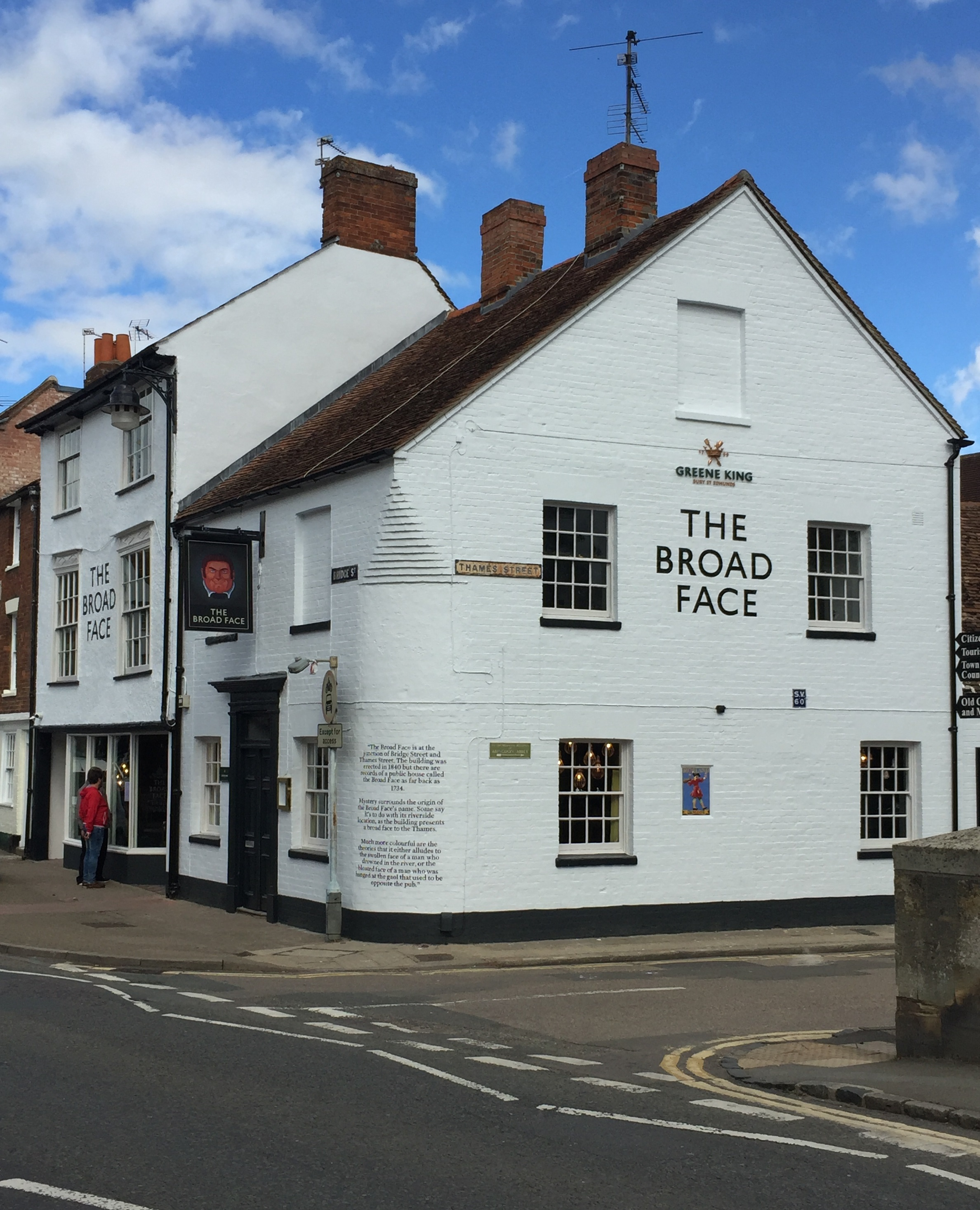 The Broad Face pub in Abingdon opened to the public on Sunday after weeks of refurbishment under new licensee, Joshua Khan