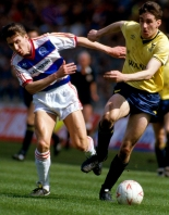 Herald Series: HEROES RETURN: John Aldridge, pictured at Wembley during United's Milk Cup triumph, is due to play for the U's again