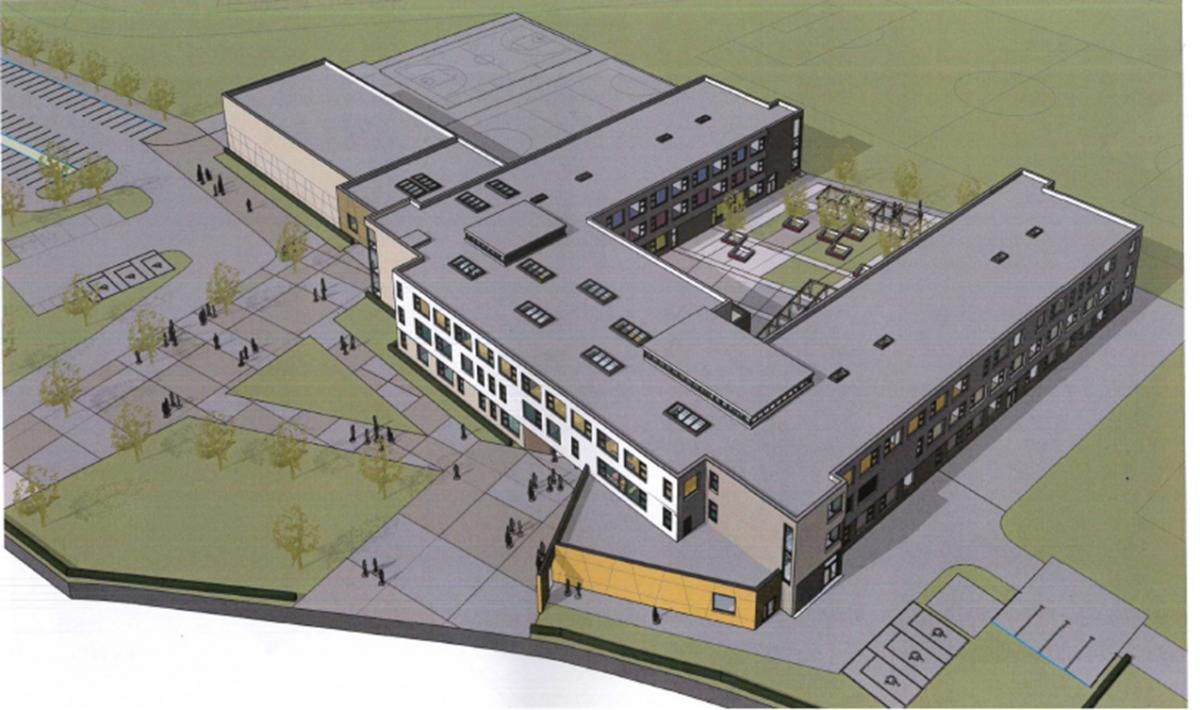 Golden era for education as updated plans submitted for new secondary school in didcot