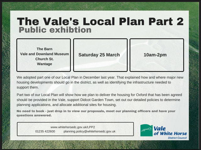 Vale of White Horse District Council - Local Plan, part 2