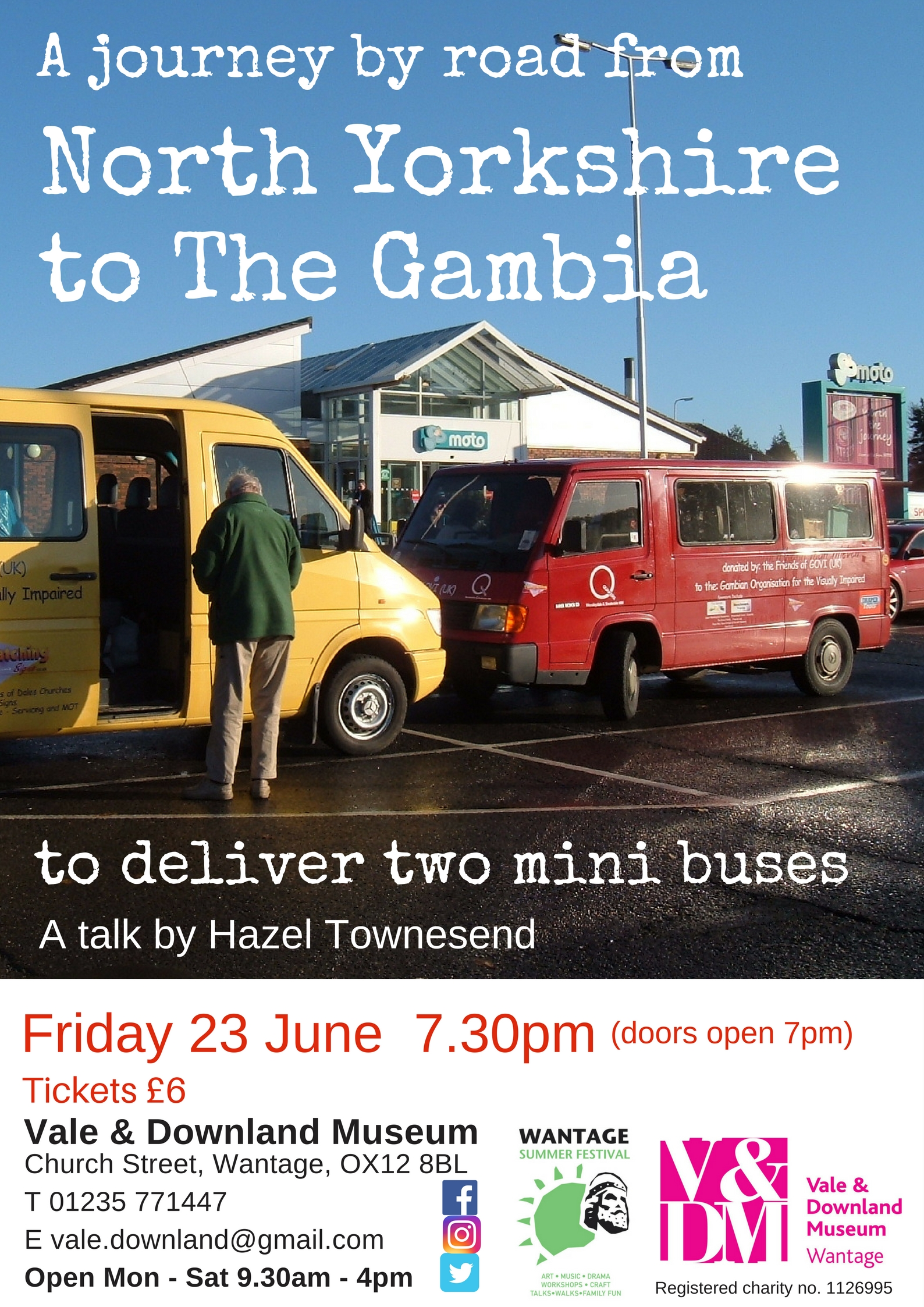 A Journey by road from North Yorkshire to The Gambia to deliver 2 mini buses
