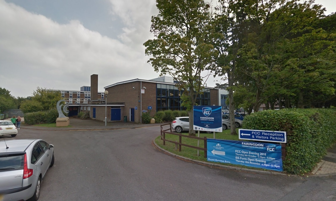 Faringdon Community College. Picture: Google Maps