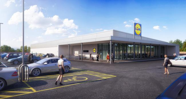 Plans of the new German store, which will open in the Hitchercroft industrial estate at the end of the month, ending Wallingford's 'second supermarket saga'. Picture: Lidl