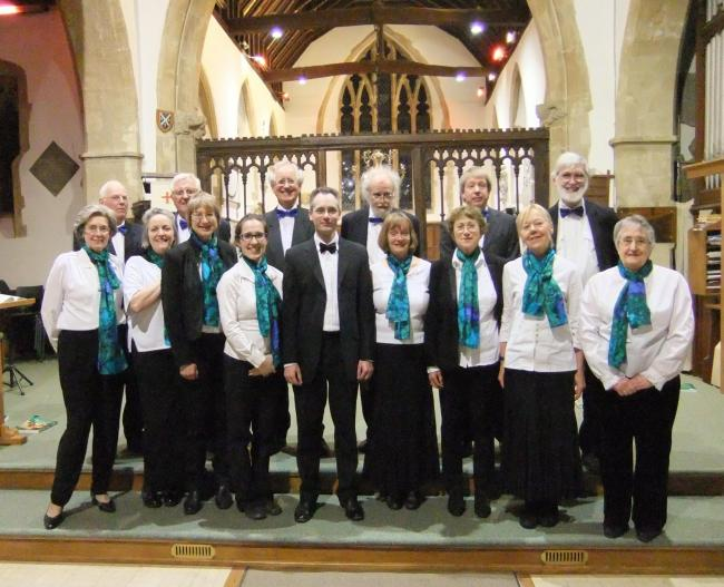 The Crown Singers with director Paul Hedley