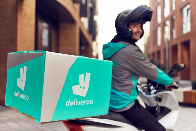 A Deliveroo rider. Picture: Mikael Buck / Deliveroo