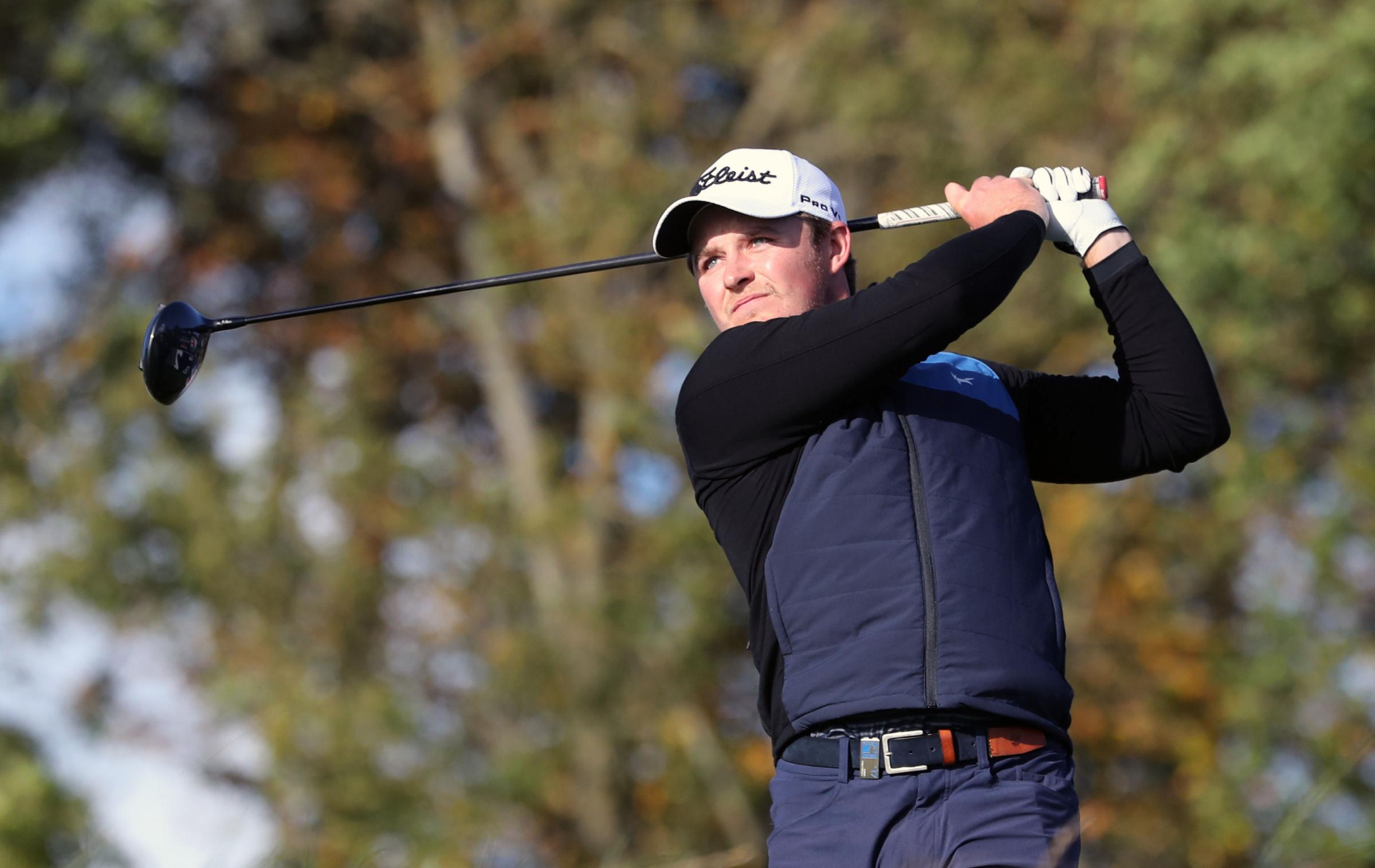 GOLF: Eddie Pepperell shoots  70 in second round of the Dubai World Championship